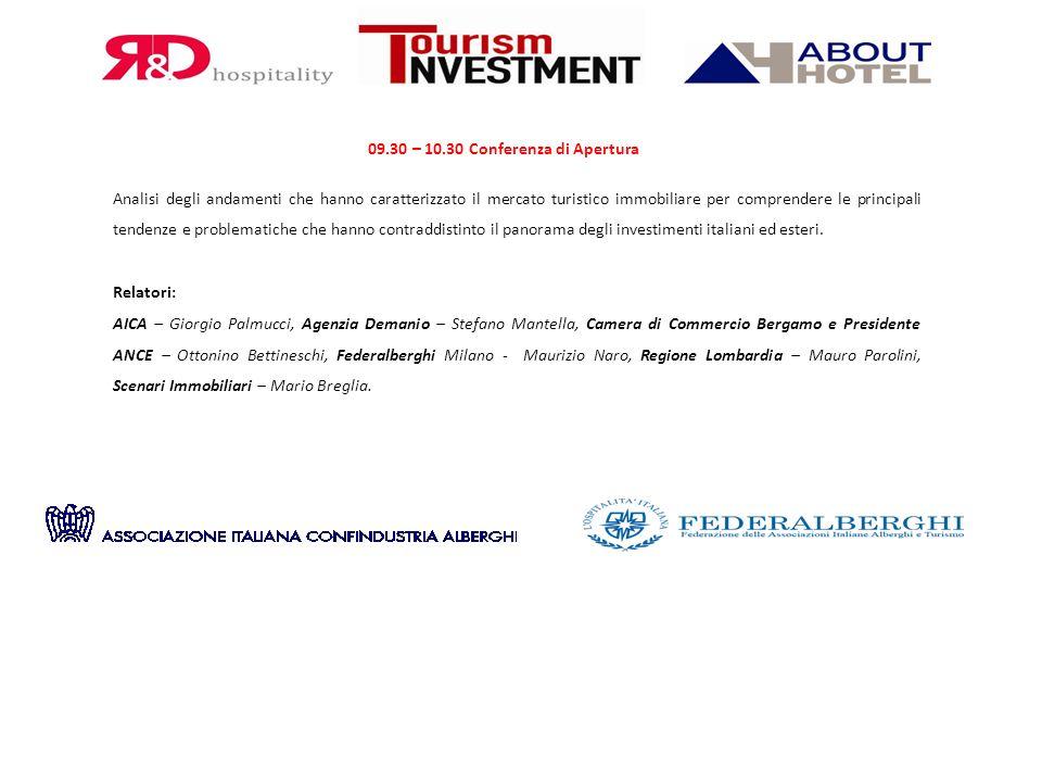 09.30 – 10.30 Conferenza di Apertura