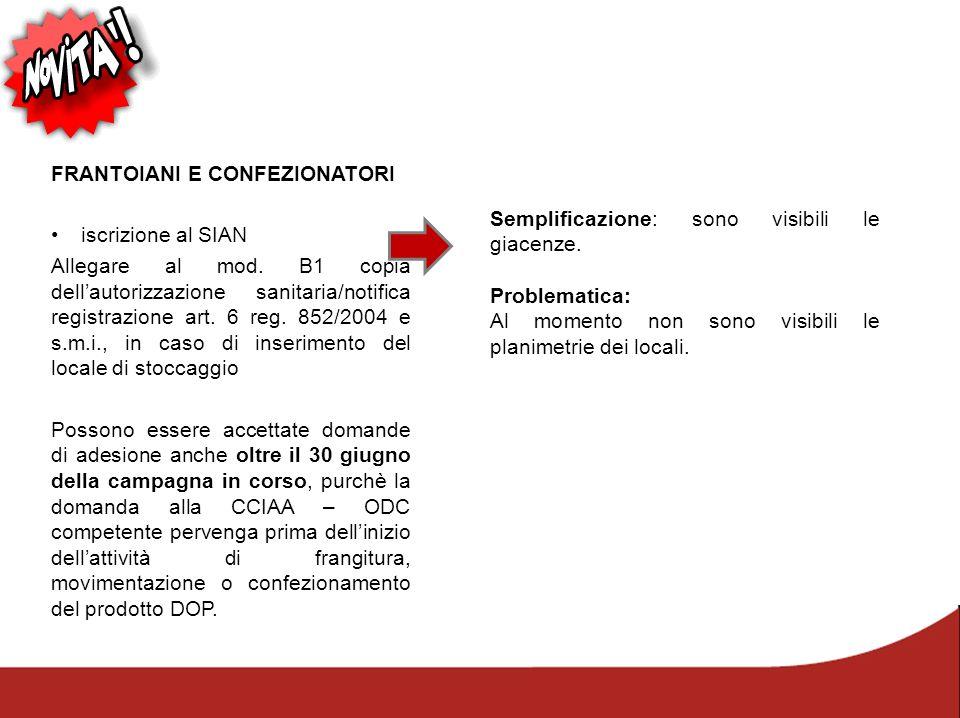 FRANTOIANI E CONFEZIONATORI