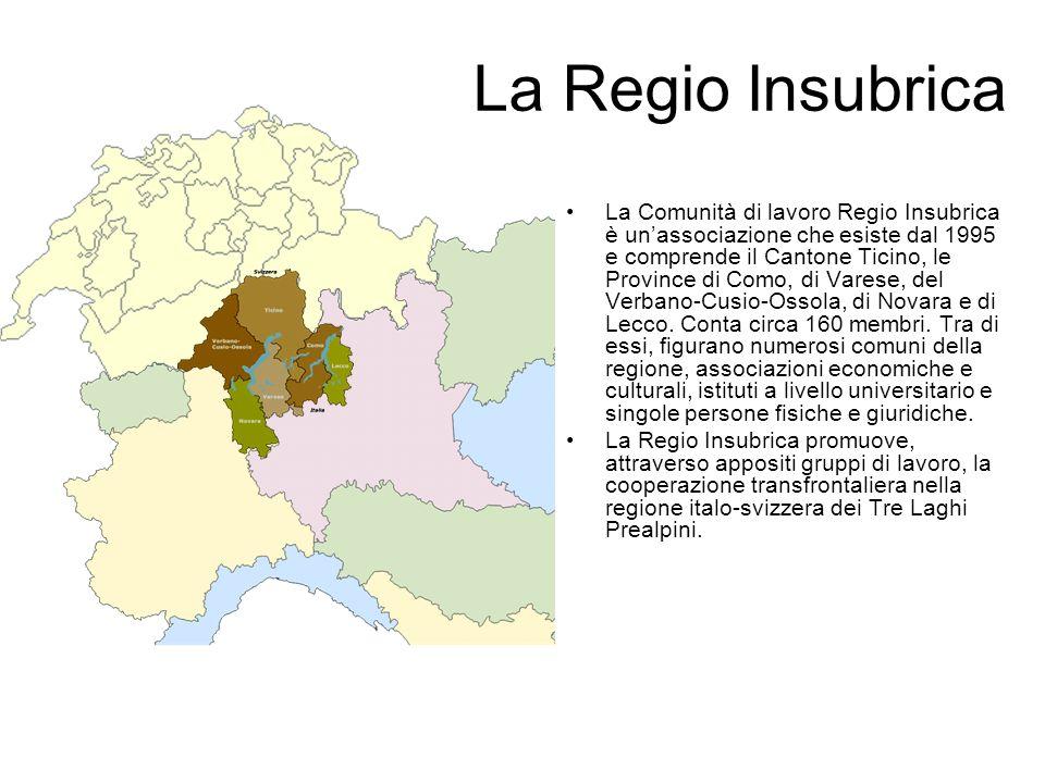 La Regio Insubrica