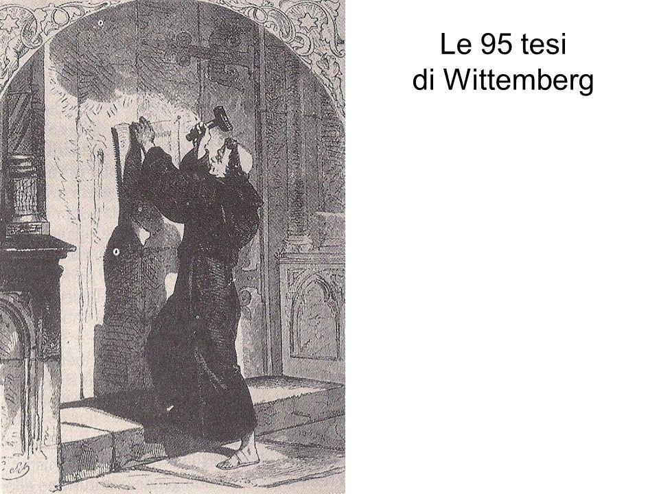 Le 95 tesi di Wittemberg