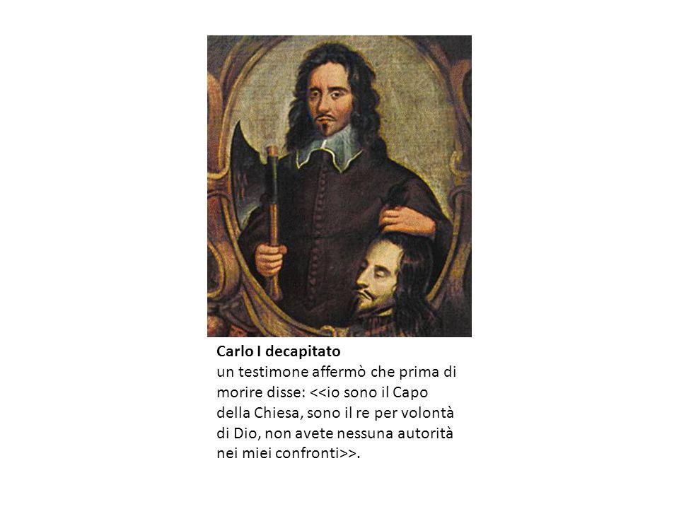 Carlo I decapitato