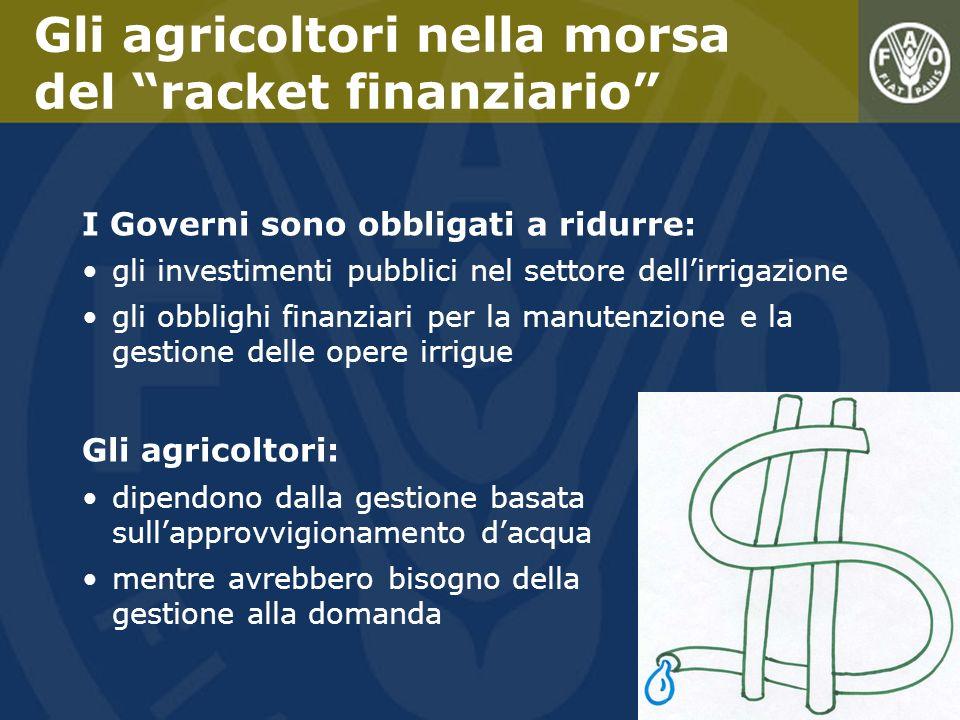 Gli agricoltori nella morsa del racket finanziario