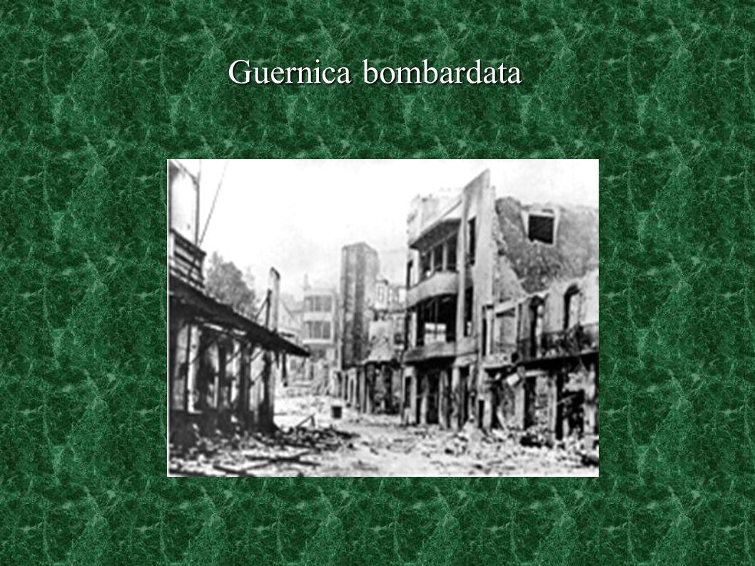 Guernica bombardata