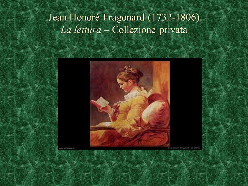 Jean Honoré Fragonard (1732-1806) La lettura – Collezione privata