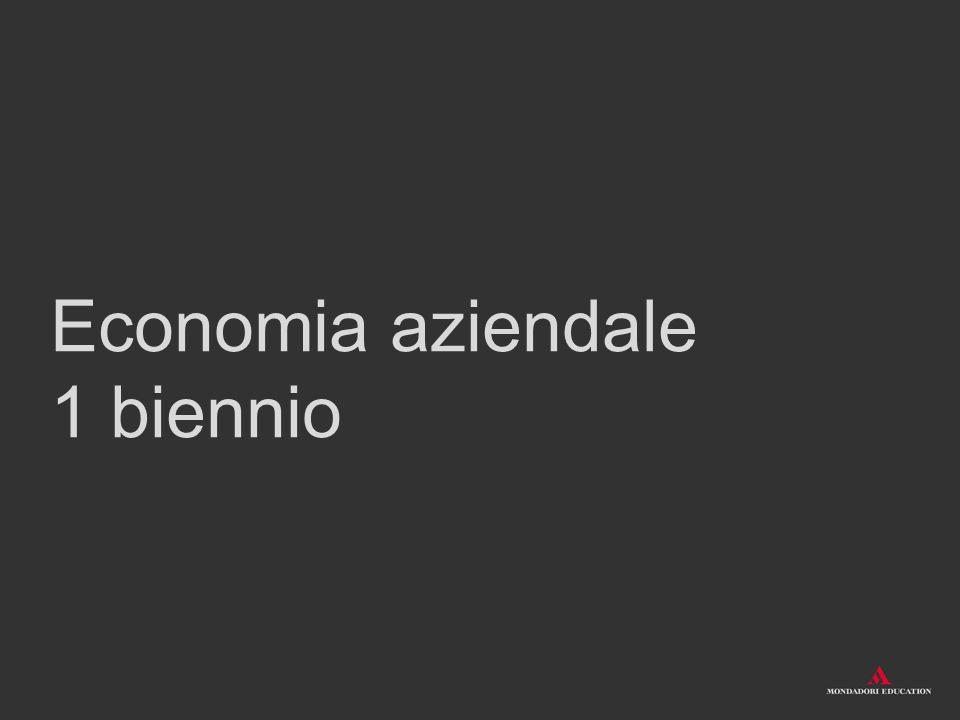 Economia aziendale 1 biennio