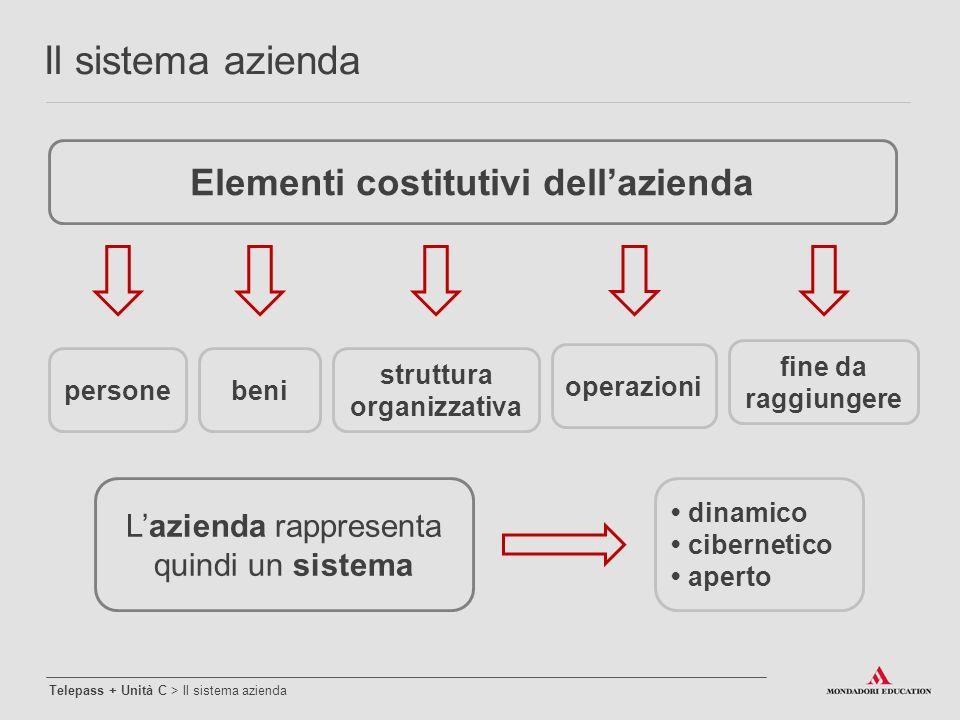 Elementi costitutivi dell'azienda