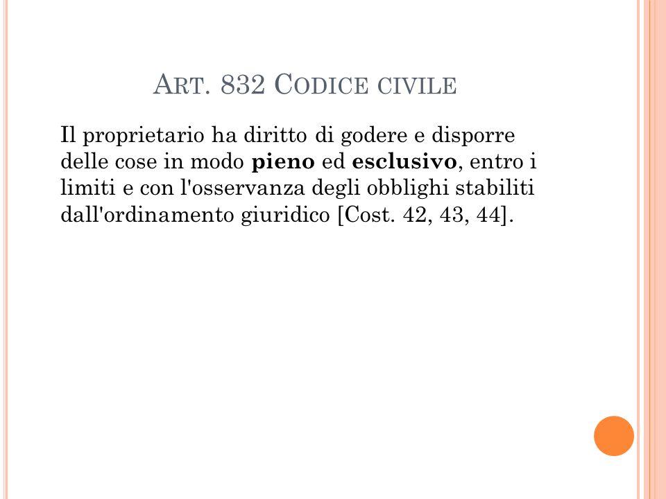 Art. 832 Codice civile