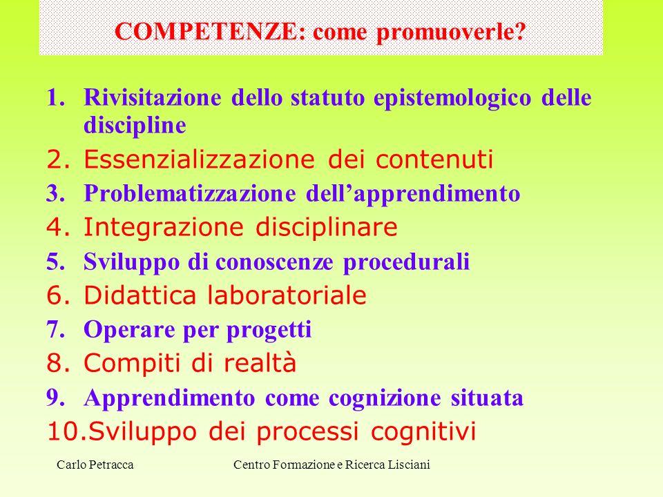COMPETENZE: come promuoverle