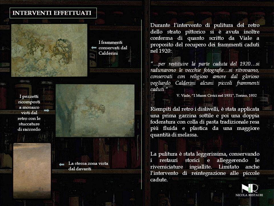INTERVENTI EFFETTUATI