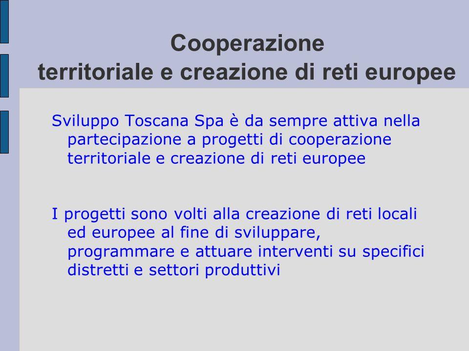 Cooperazione territoriale e creazione di reti europee