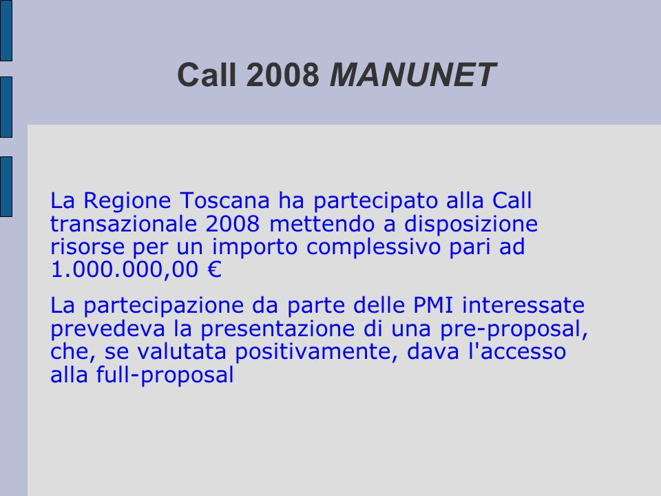 Call 2008 MANUNET
