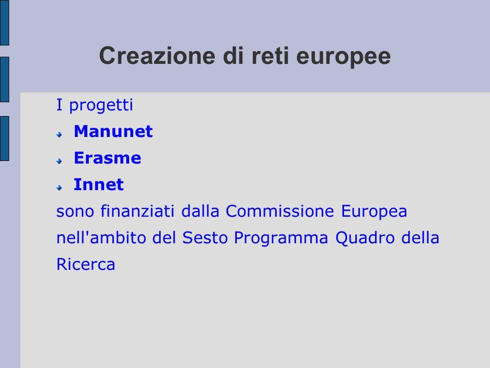 Creazione di reti europee