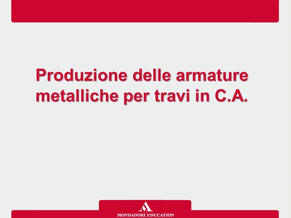 Produzione delle armature metalliche per travi in C.A.