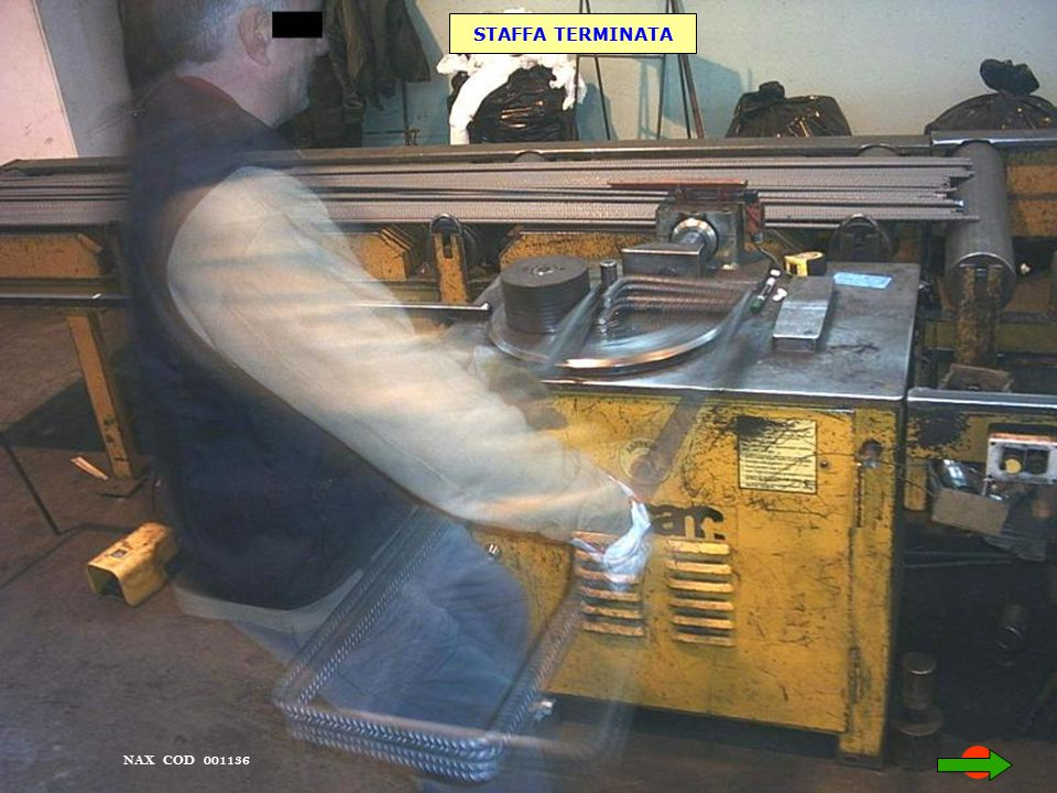 STAFFA TERMINATA NAX COD 001136