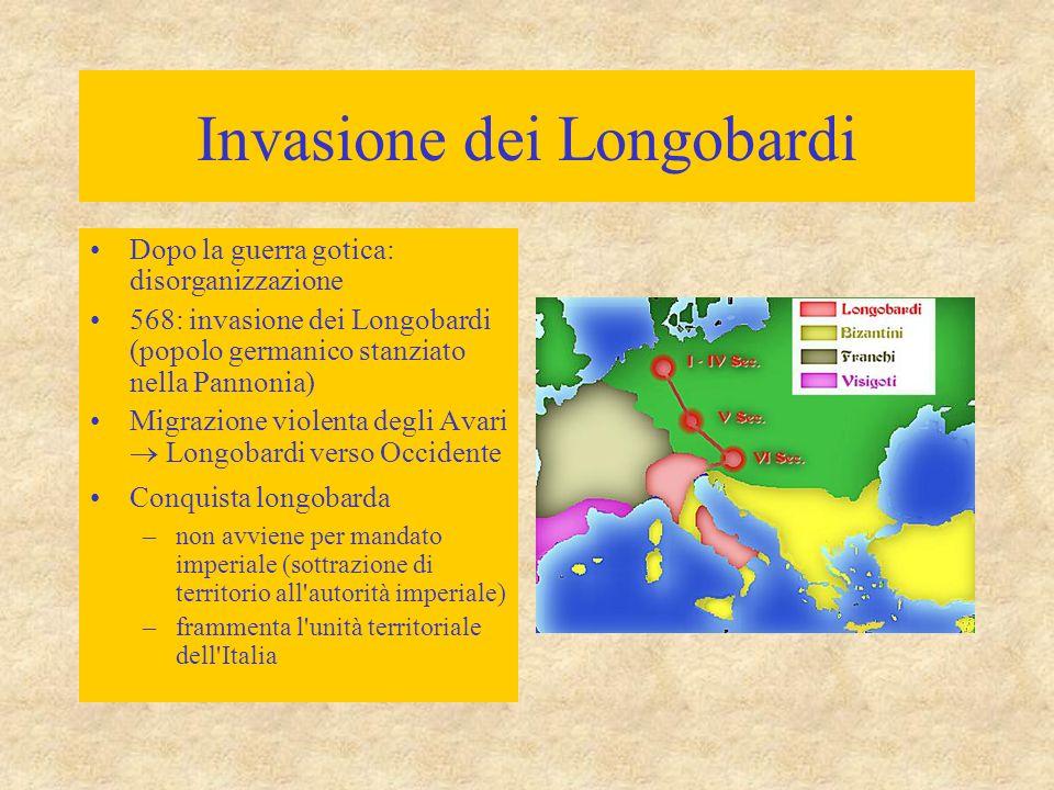 Invasione dei Longobardi