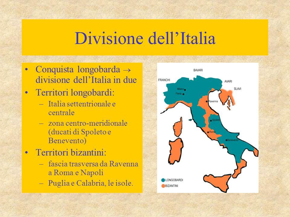 Divisione dell'Italia