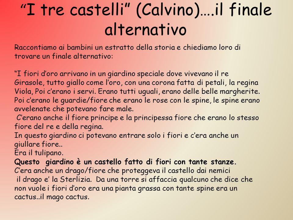 I tre castelli (Calvino)….il finale alternativo