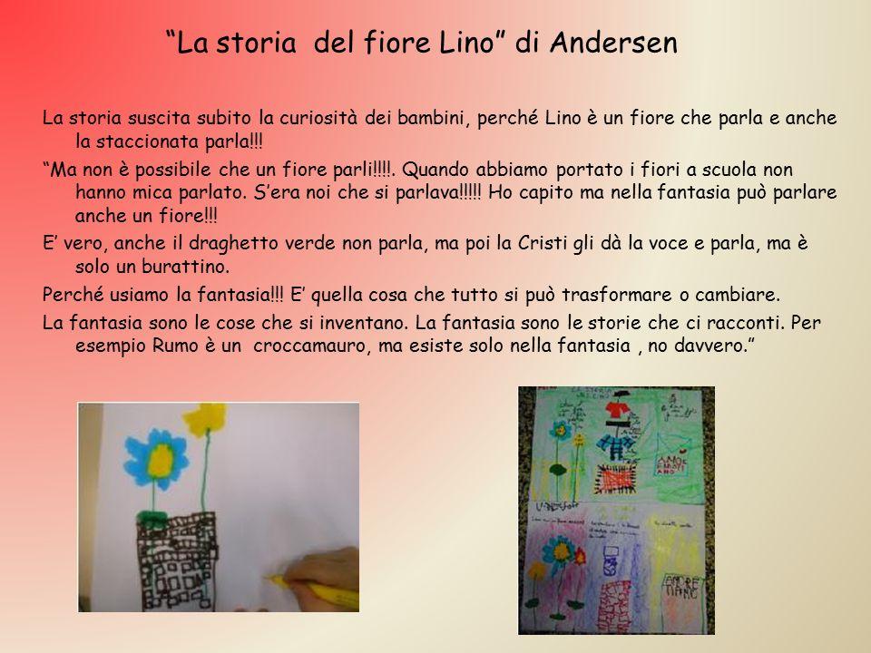 La storia del fiore Lino di Andersen