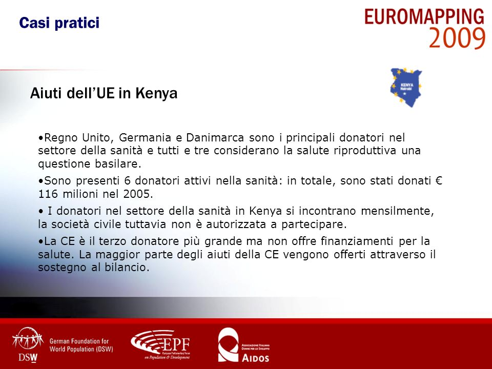 Casi pratici Aiuti dell'UE in Kenya
