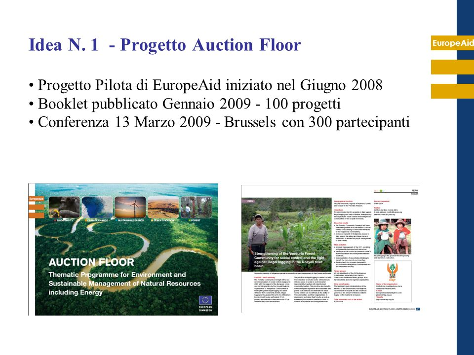 Idea N. 1 - Progetto Auction Floor