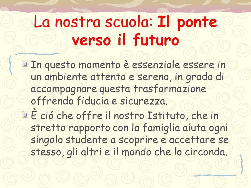 La nostra scuola: Il ponte verso il futuro