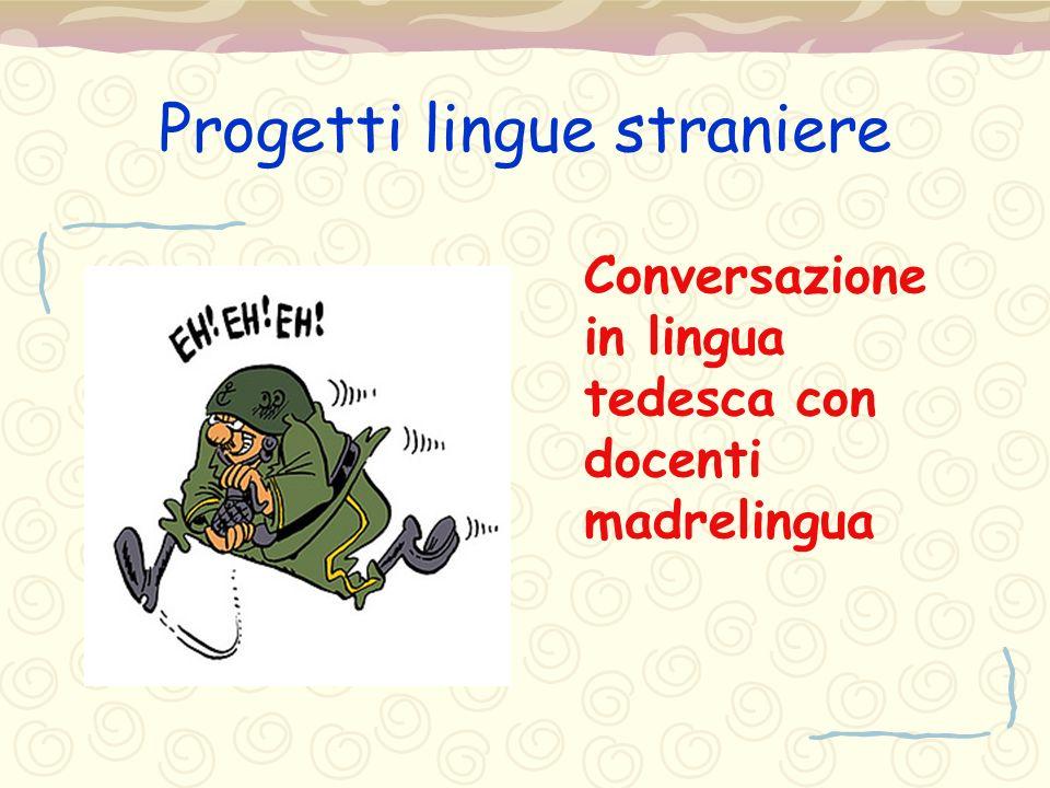 Progetti lingue straniere
