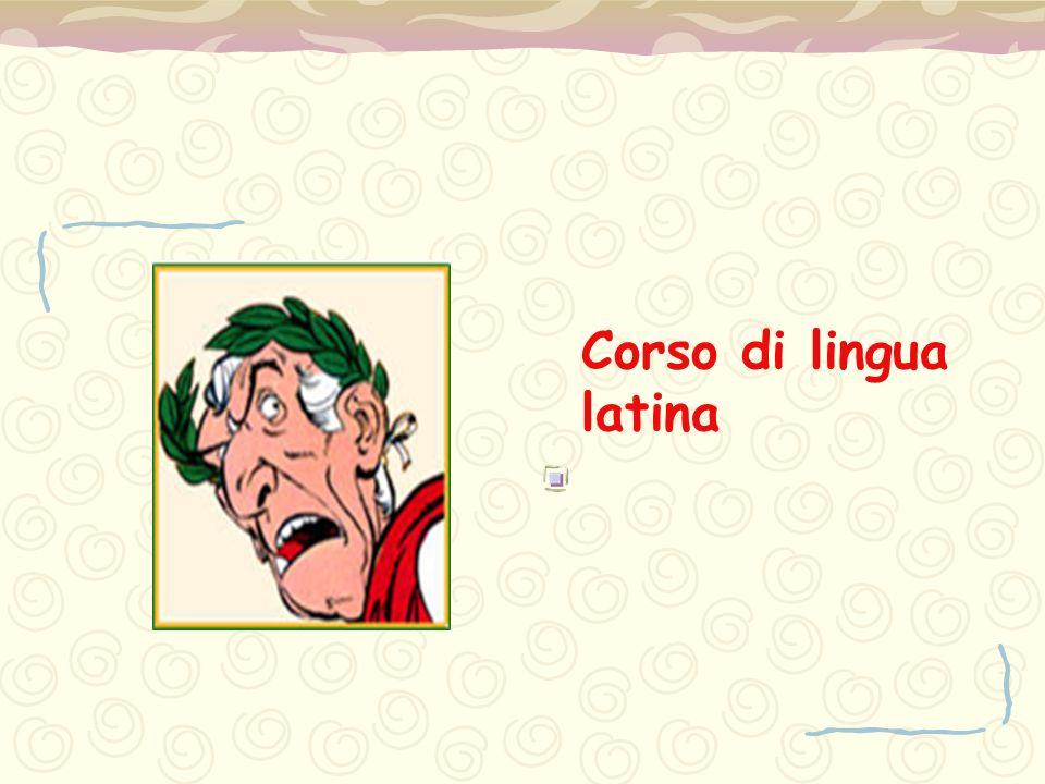 Corso di lingua latina