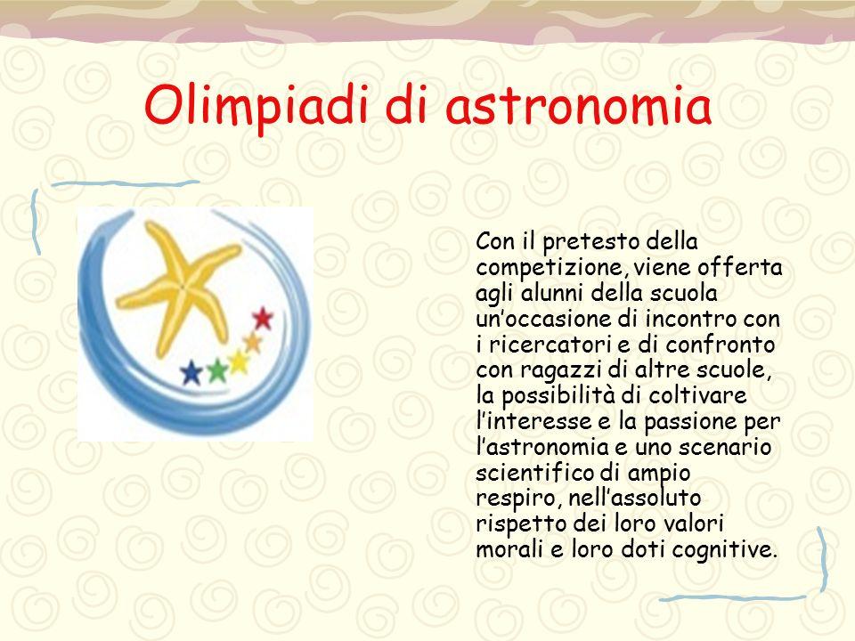 Olimpiadi di astronomia
