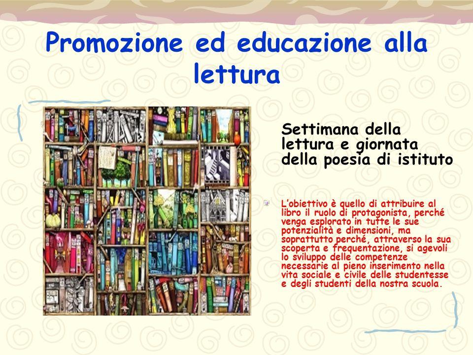 Promozione ed educazione alla lettura