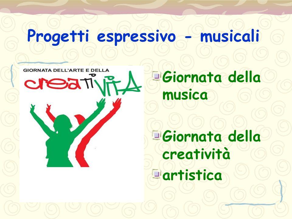 Progetti espressivo - musicali