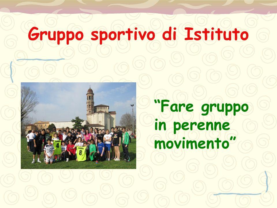 Gruppo sportivo di Istituto