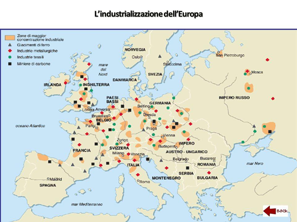 L'industrializzazione dell'Europa