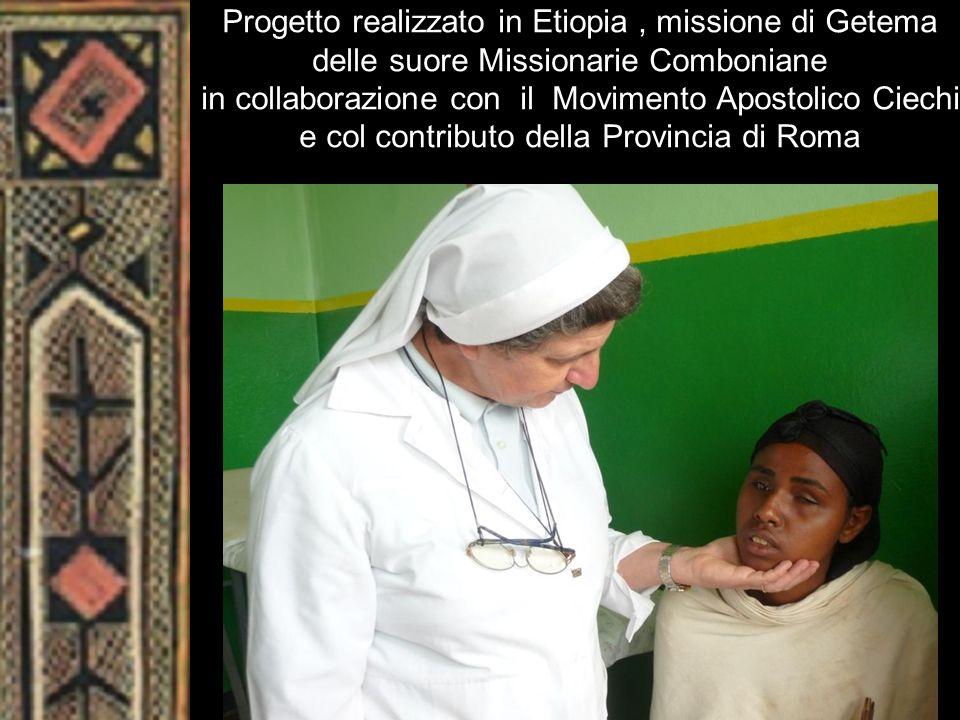 Progetto realizzato in Etiopia , missione di Getema