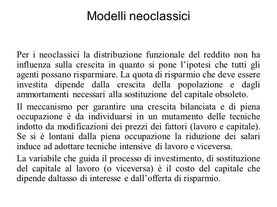 Modelli neoclassici