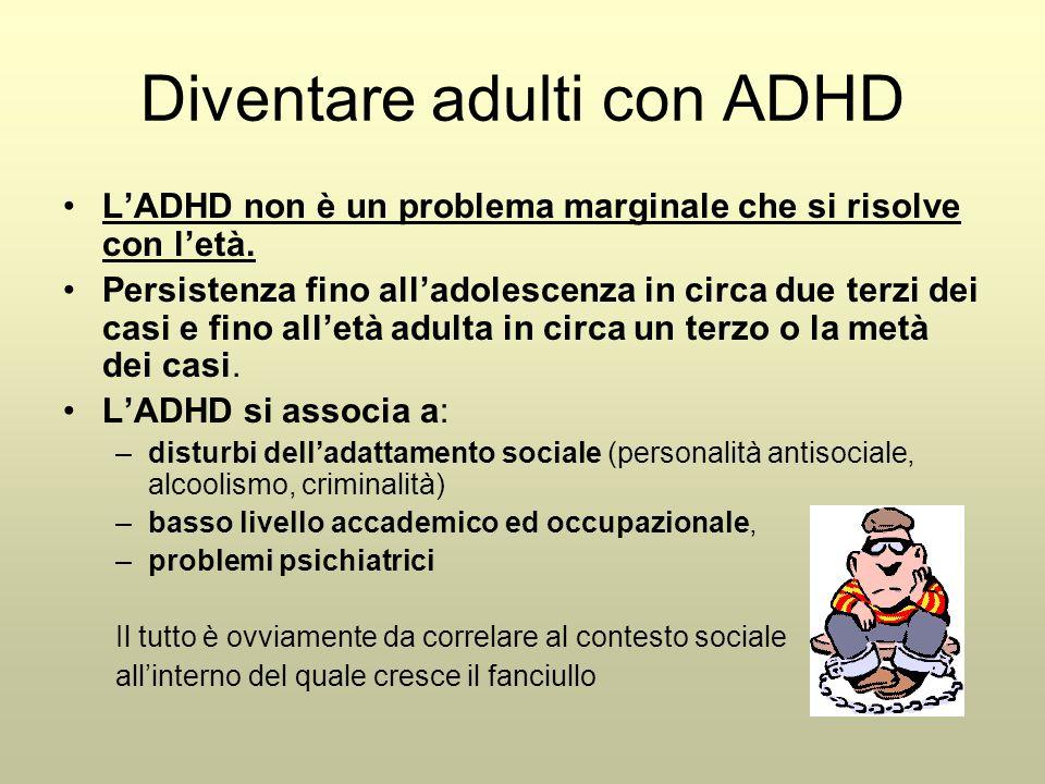 Diventare adulti con ADHD