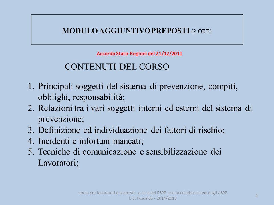 Accordo Stato-Regioni del 21/12/2011