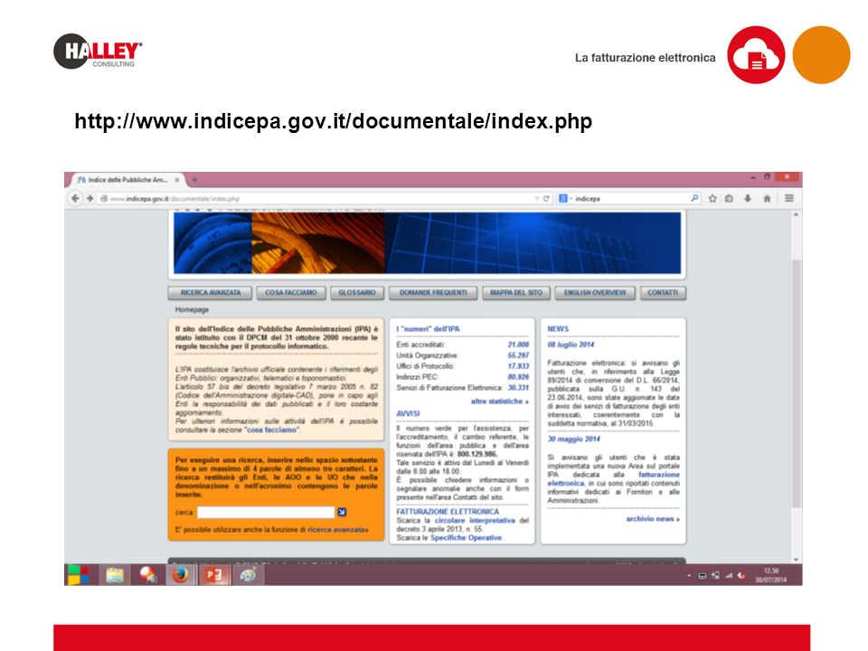 http://www.indicepa.gov.it/documentale/index.php