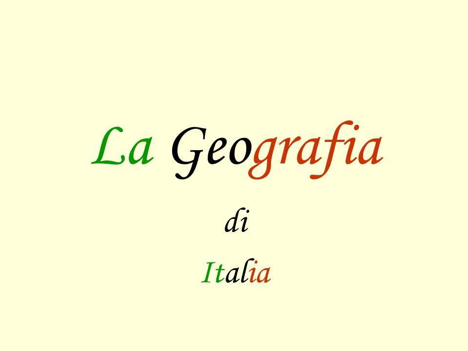 La Geografia di Italia