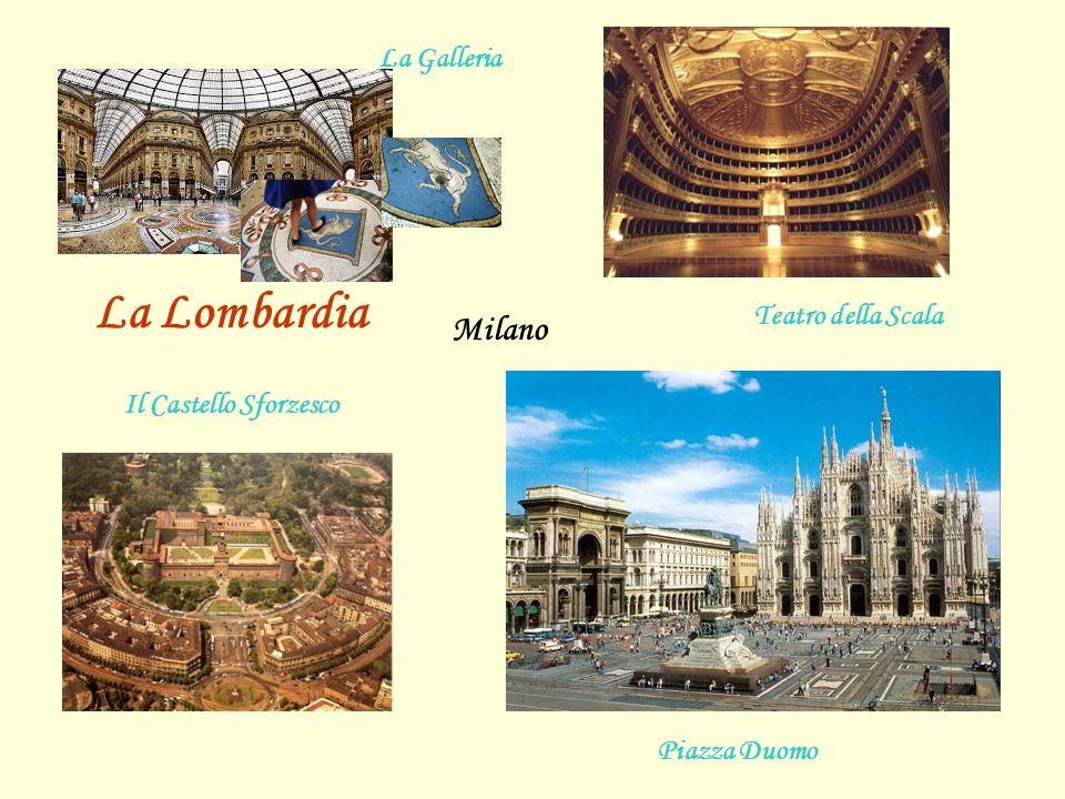 La Lombardia Milano La Galleria Teatro della Scala