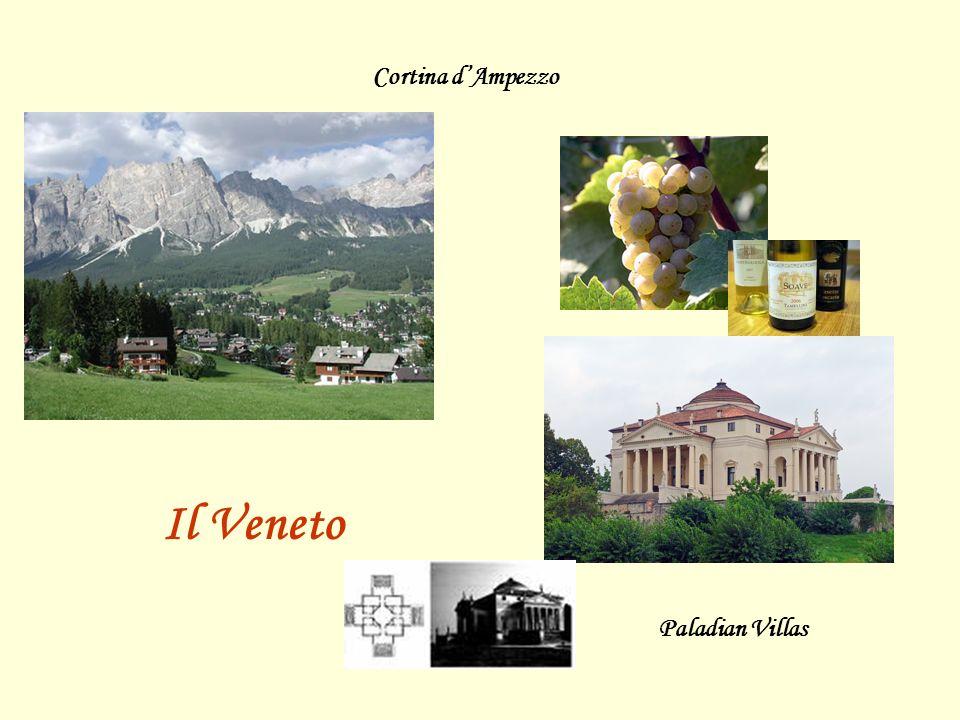 Cortina d'Ampezzo Il Veneto Paladian Villas