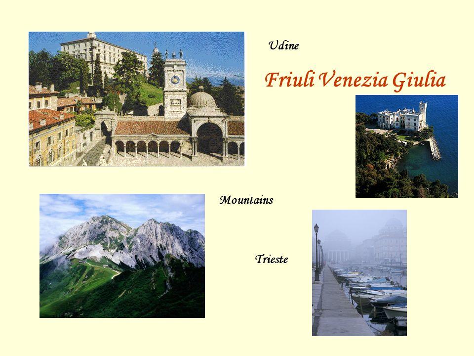 Udine Friuli Venezia Giulia Mountains Trieste
