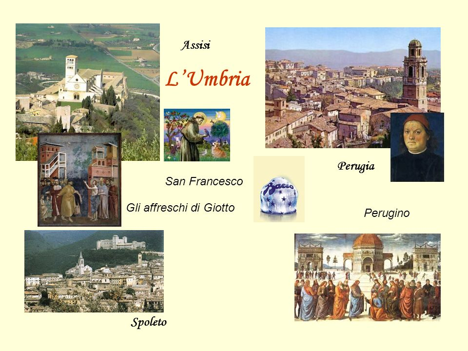 L'Umbria Assisi Perugia Spoleto San Francesco Gli affreschi di Giotto