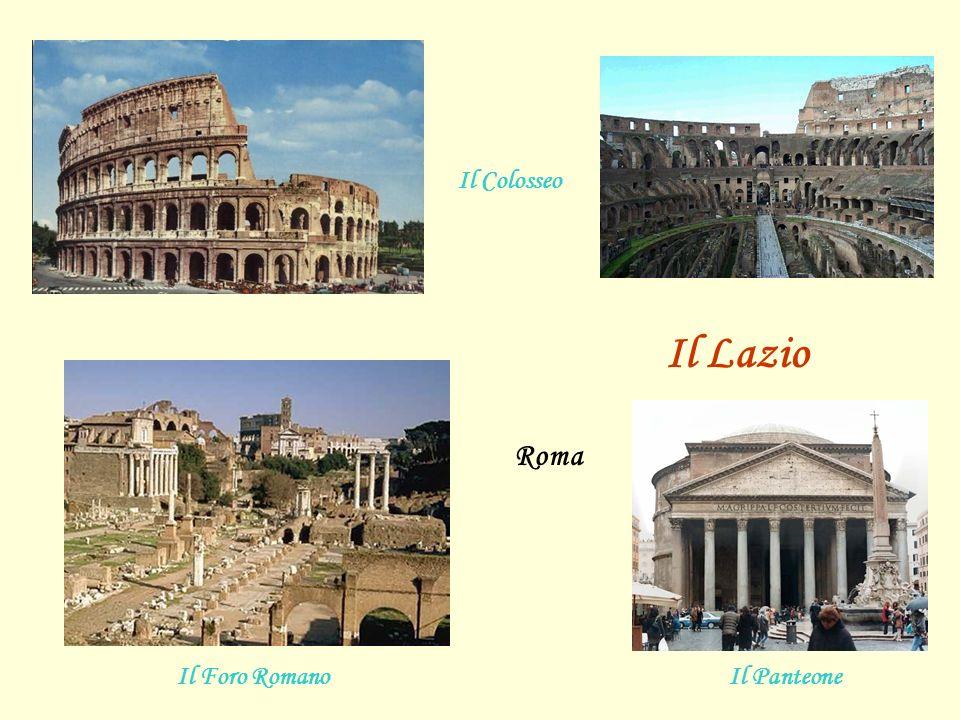 Il Colosseo Il Lazio Roma Il Foro Romano Il Panteone