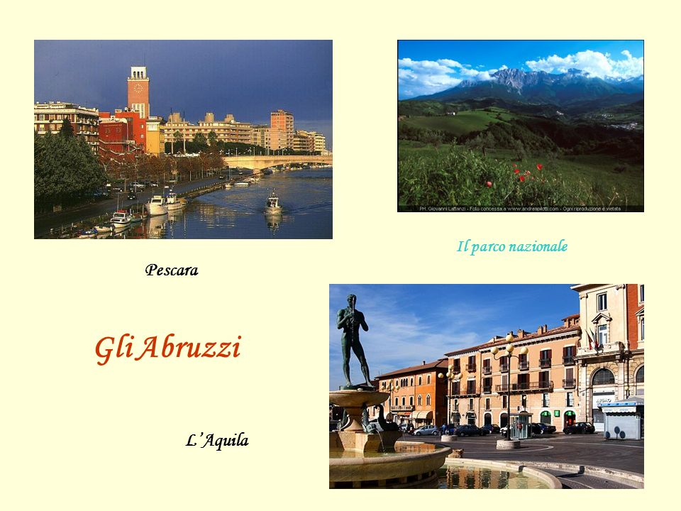 Il parco nazionale Pescara Gli Abruzzi L'Aquila