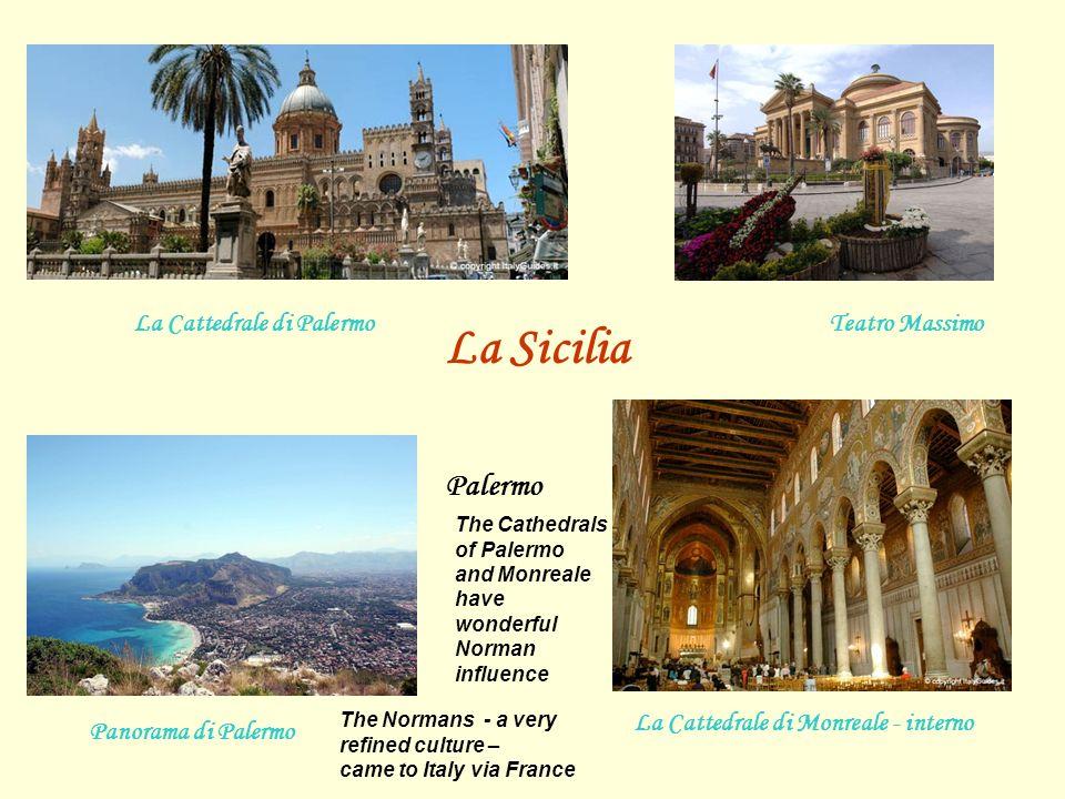 La Cattedrale di Palermo La Cattedrale di Monreale - interno