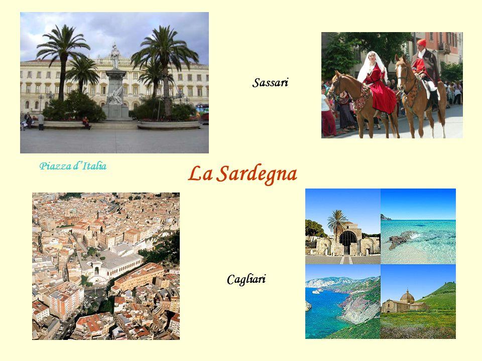 Sassari Piazza d'Italia La Sardegna Cagliari