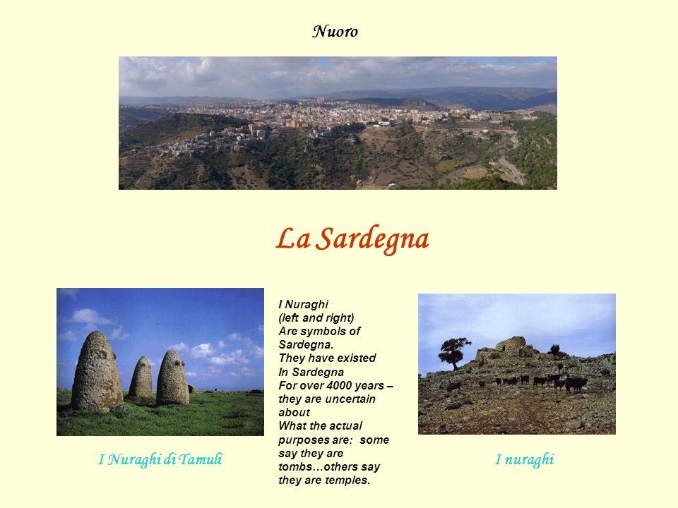 La Sardegna Nuoro I Nuraghi di Tamuli I nuraghi I Nuraghi