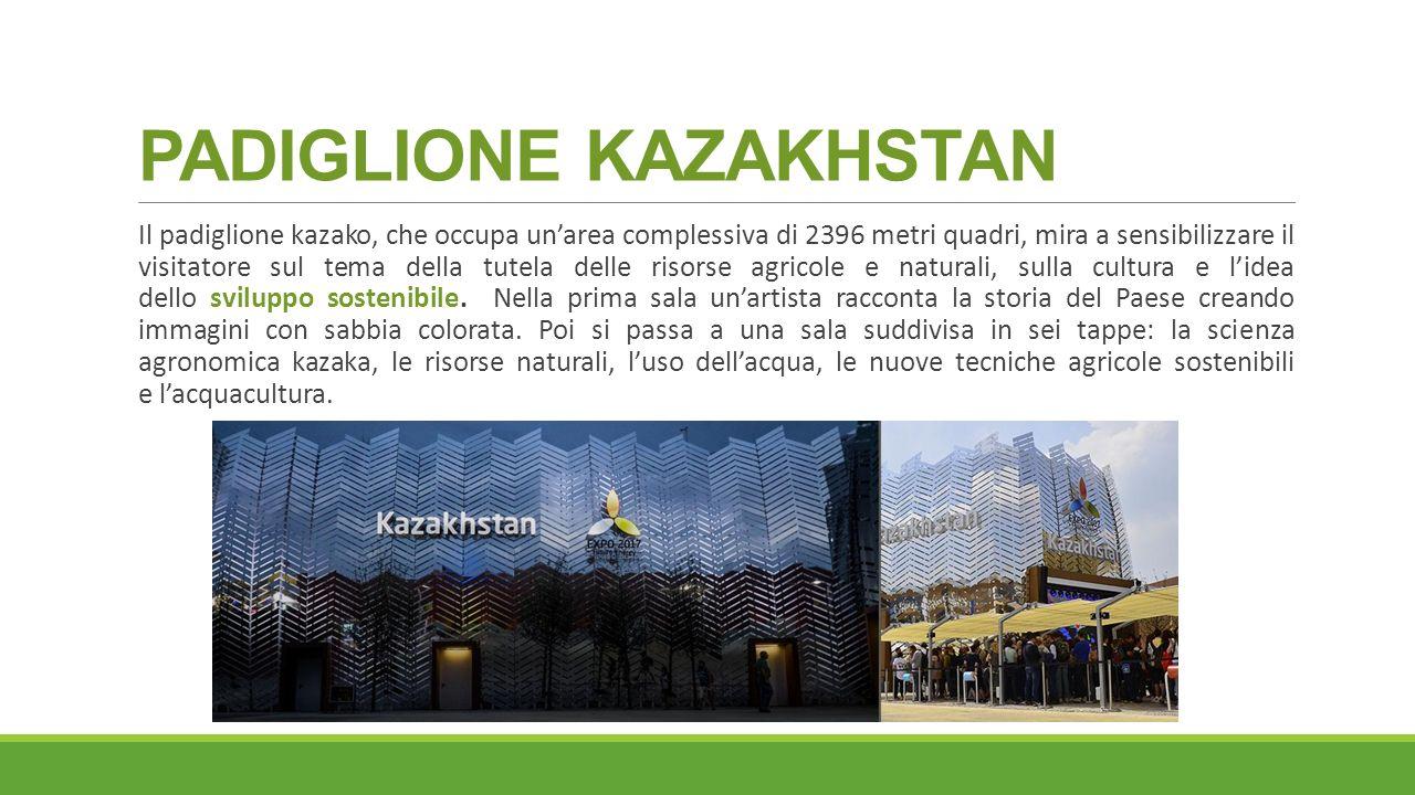 PADIGLIONE KAZAKHSTAN