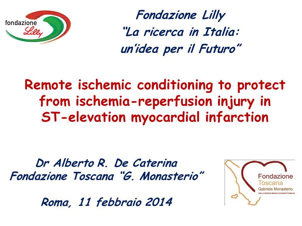 Dr Alberto R. De Caterina Fondazione Toscana G. Monasterio