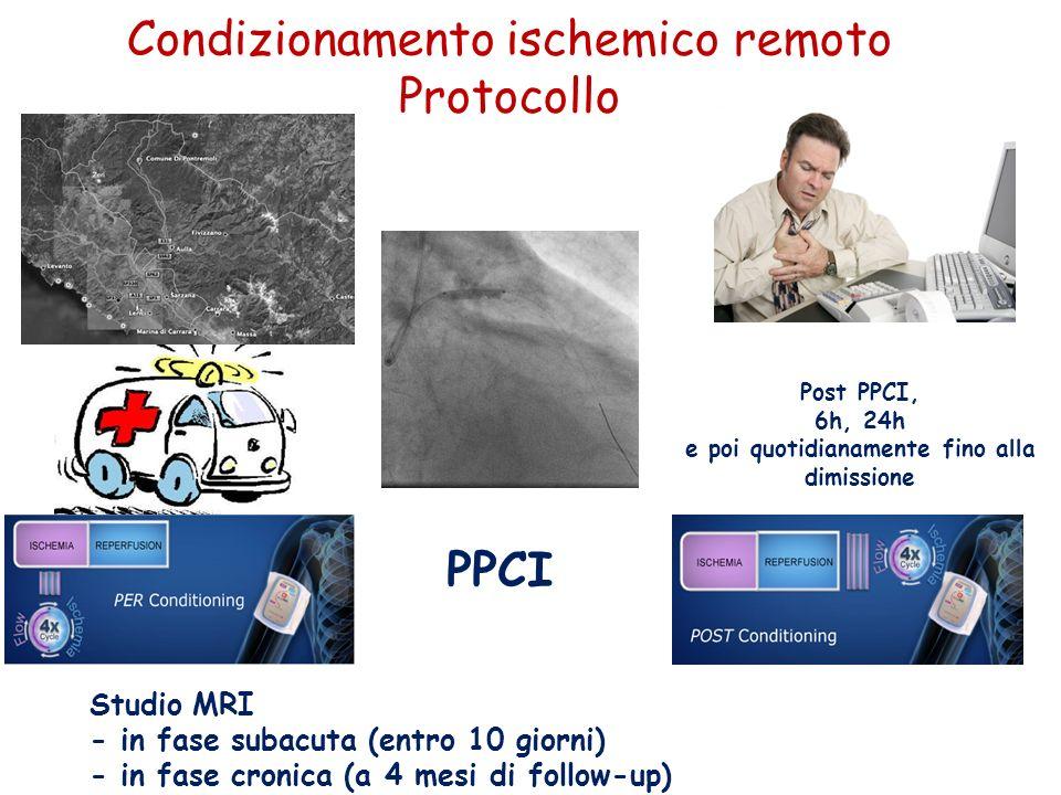 Condizionamento ischemico remoto Protocollo